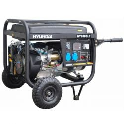 Бензинов монофазен генератор за ток HYUNDAI HY 9000 LEK - 2