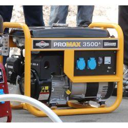 Бензинов монофазен генератор за ток B&S ProMax 3500A - 4