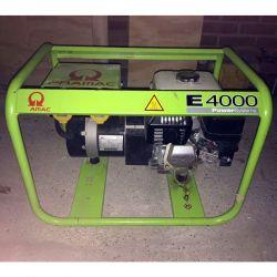 Бензинов монофазен генератор PRAMAC E4000 - 4