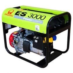 Бензинов монофазен генератор PRAMAC ES3000 - 2