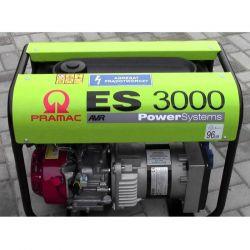 Бензинов монофазен генератор PRAMAC ES3000 - 4