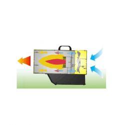 Газов калорифер с батерия и зарядно MASTER BLP 17 M DC - 4