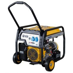 Бензинов монофазен генератор с ел старт и AVR PROENERG Stager FD 6500E - 2