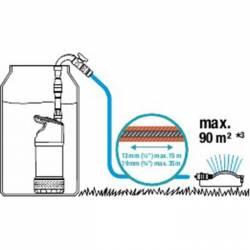 Потопяема помпа за чиста вода GARDENA 4700/2 Inox - 6
