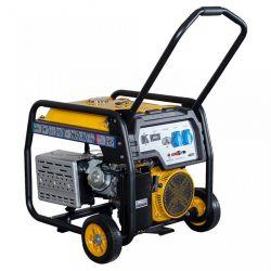 Бензинов монофазен генератор с ел старт и AVR PROENERG Stager FD 6500E - 3