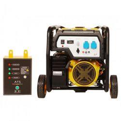Бензинов монофазен генератор с ел старт и AVR PROENERG Stager FD 6500E - 5