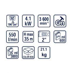 Бензинова помпа за чиста вода RAIDER RD-GWP01 - 4